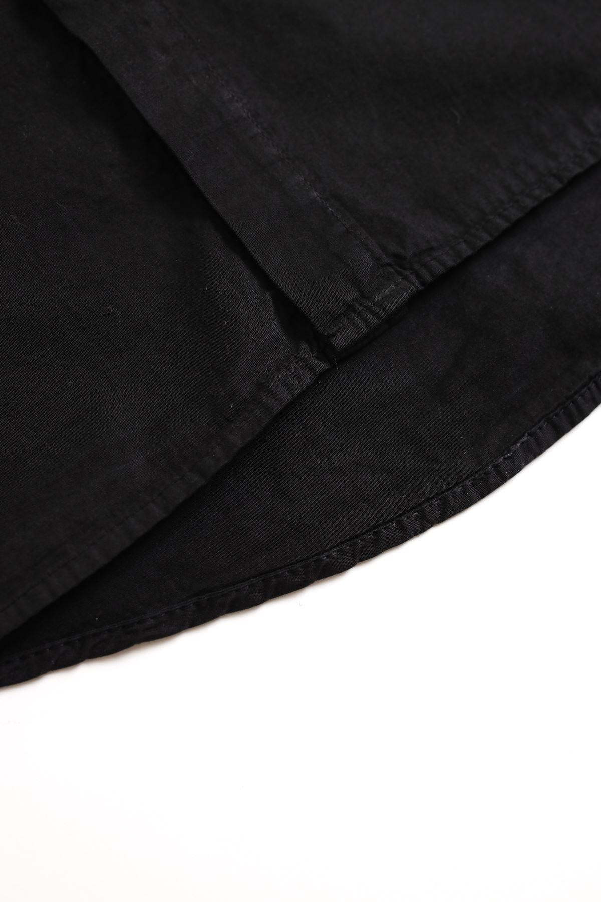 Siyah Oversize Gömlek