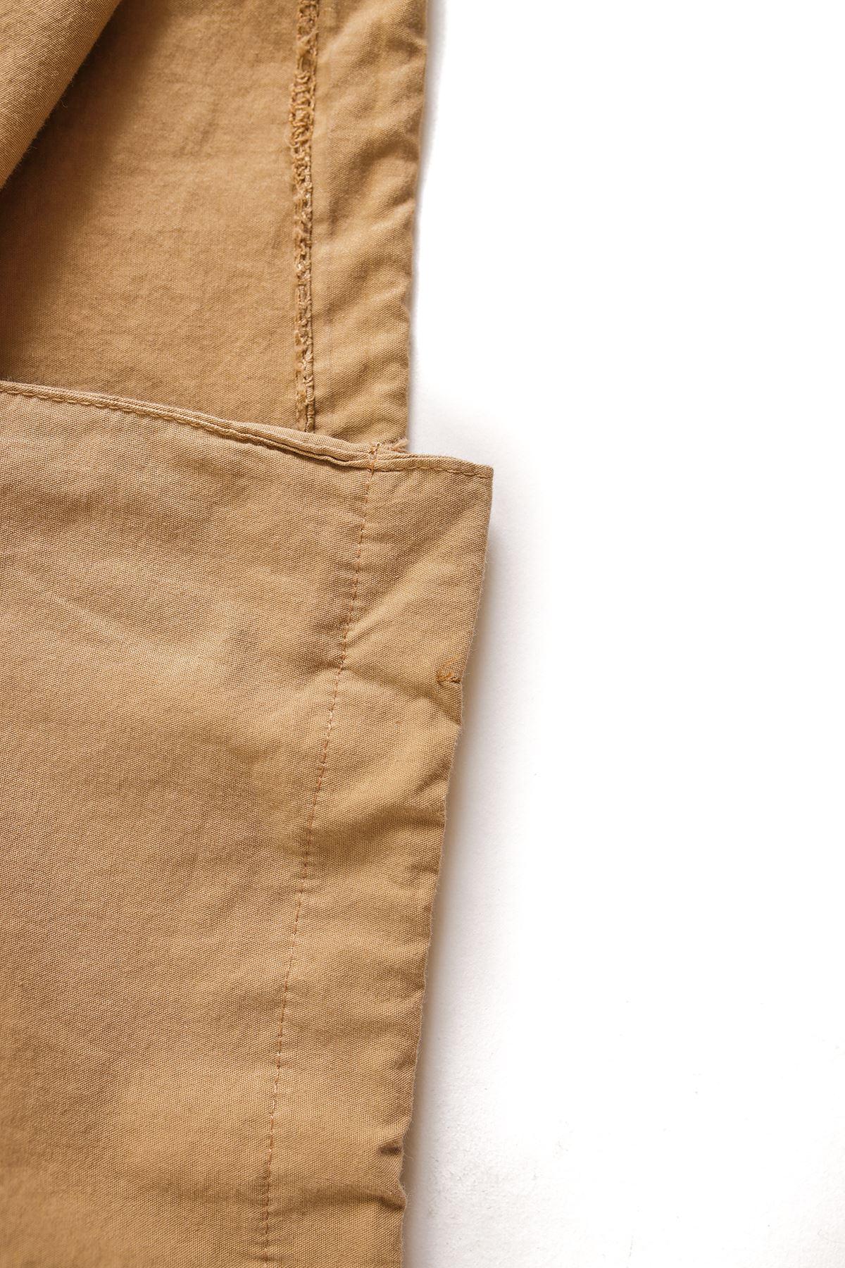 Taba Oversize Kapaklı Gömlek