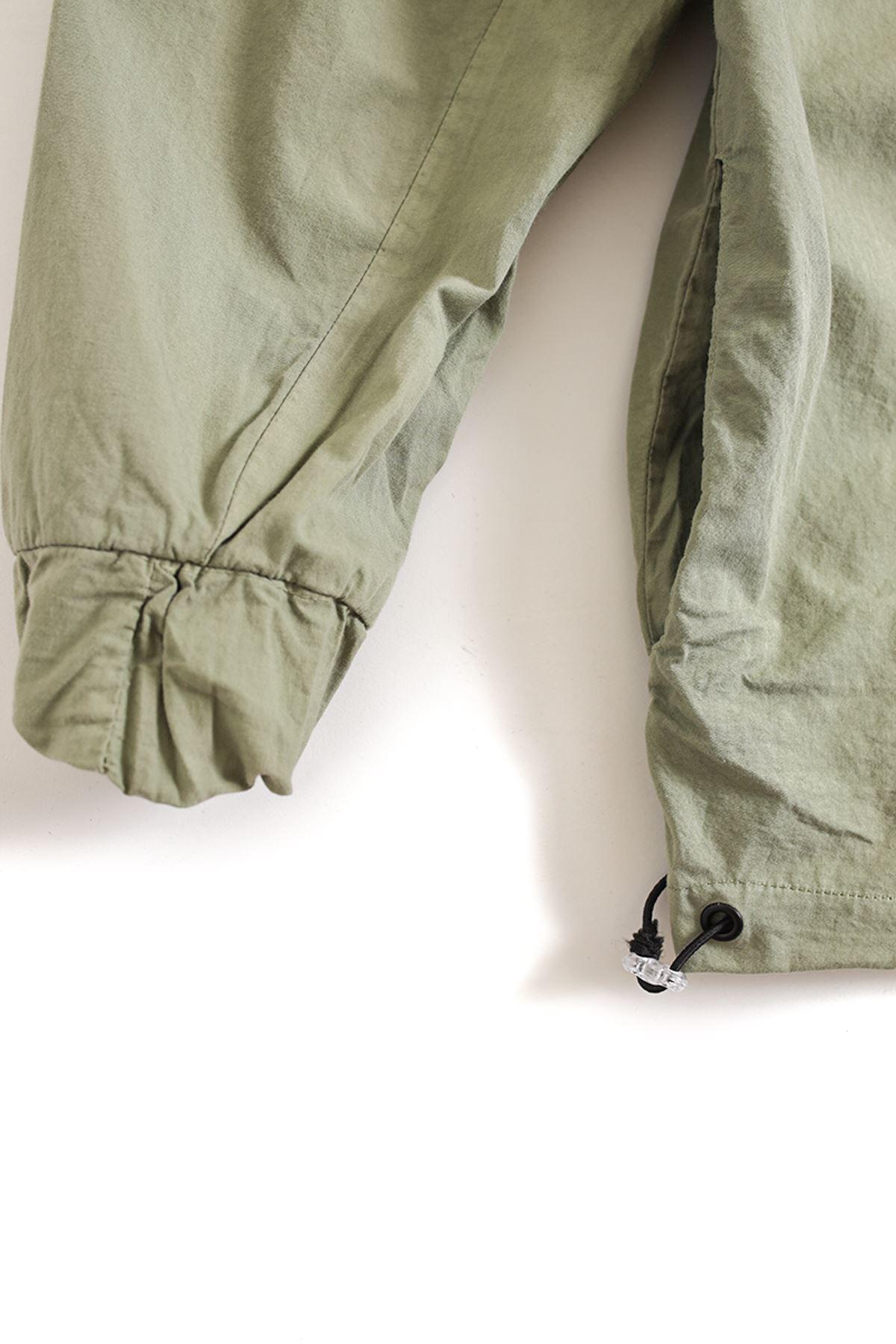 Deniz Yeşili Oversize Kapaklı Gömlek
