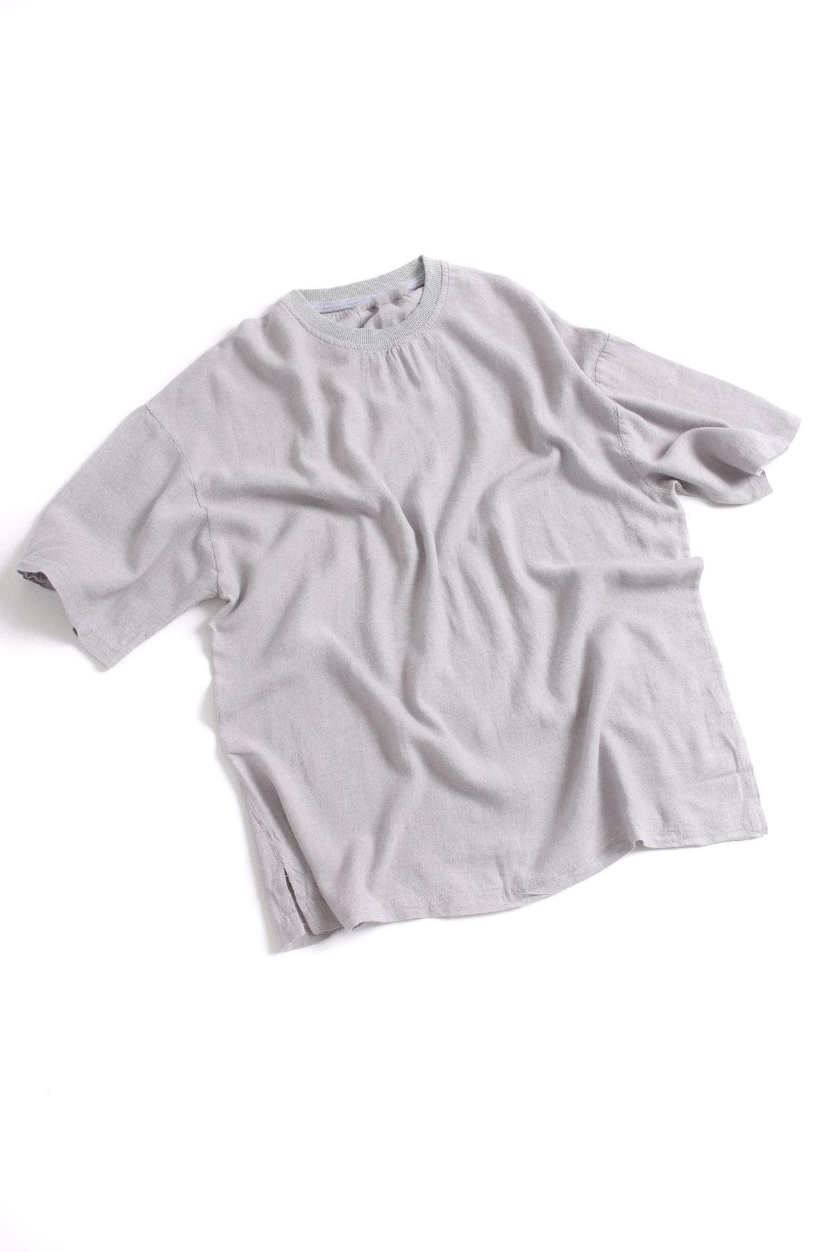 Gri Oversize T-shirt
