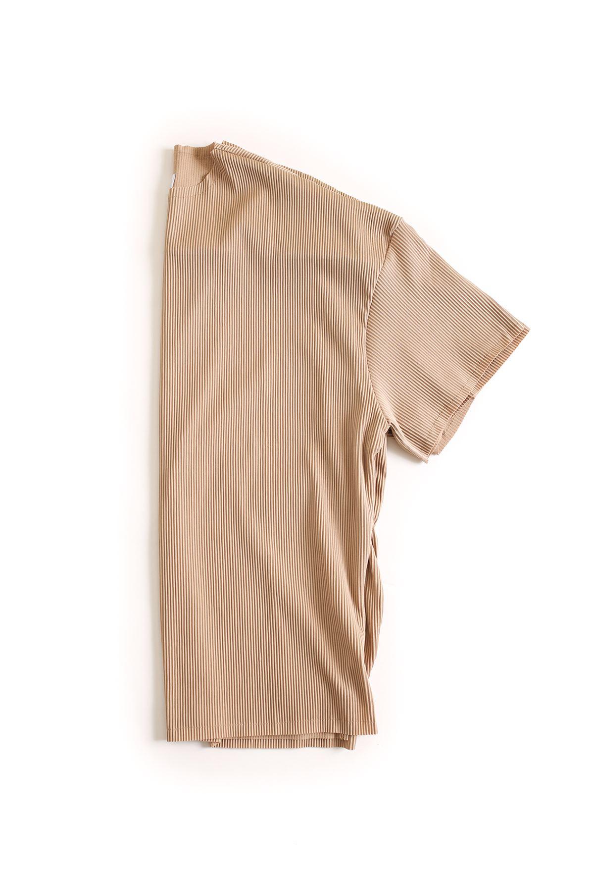 Taba Ottoman Çizgili T-Shirt