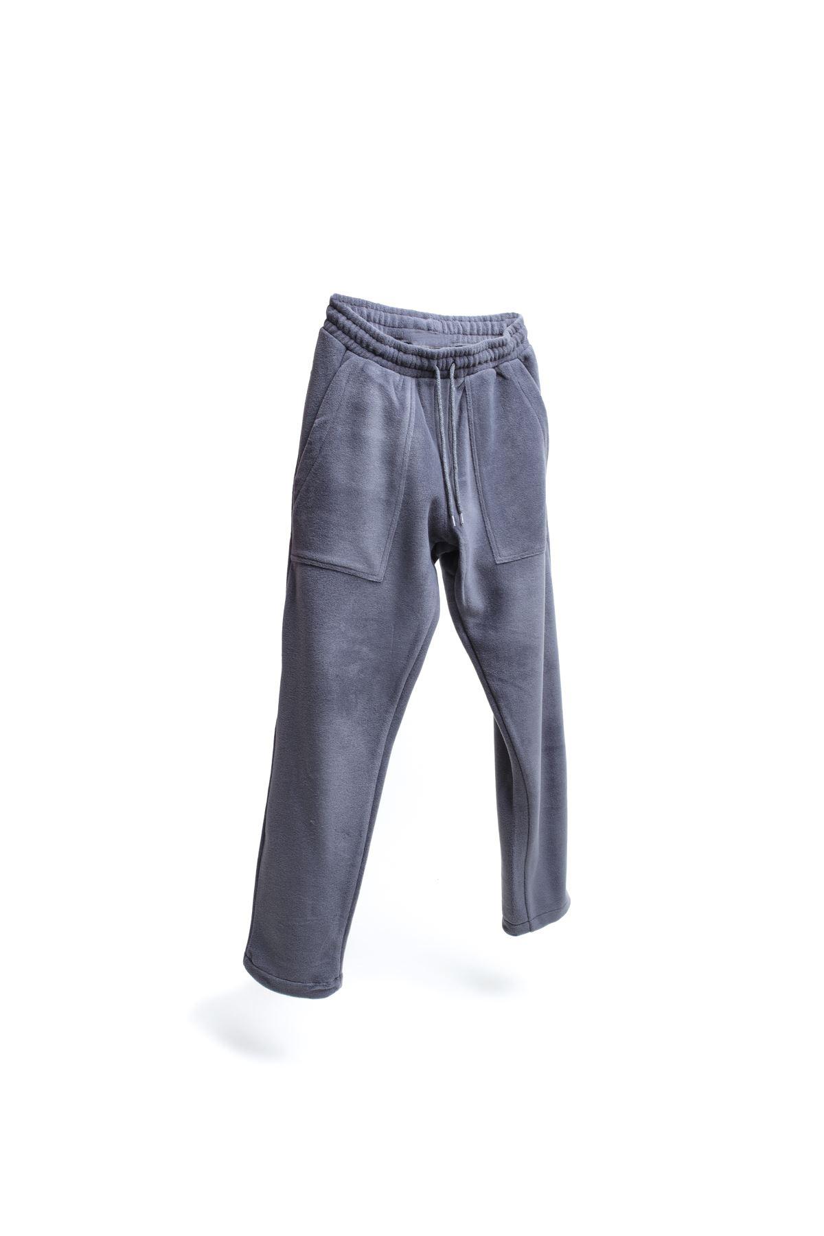 Antrasit Polar Jogger Pantolon