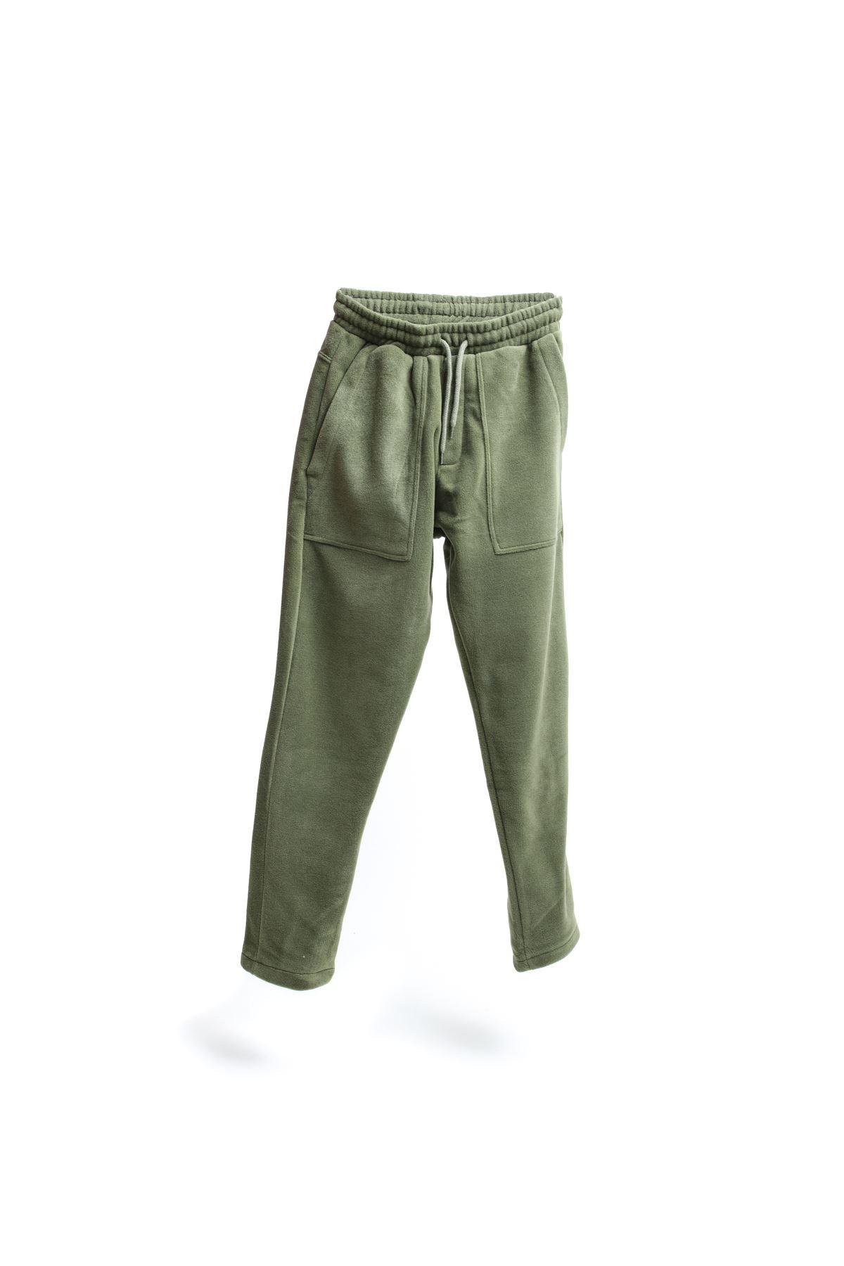 Haki Polar Jogger Pantolon