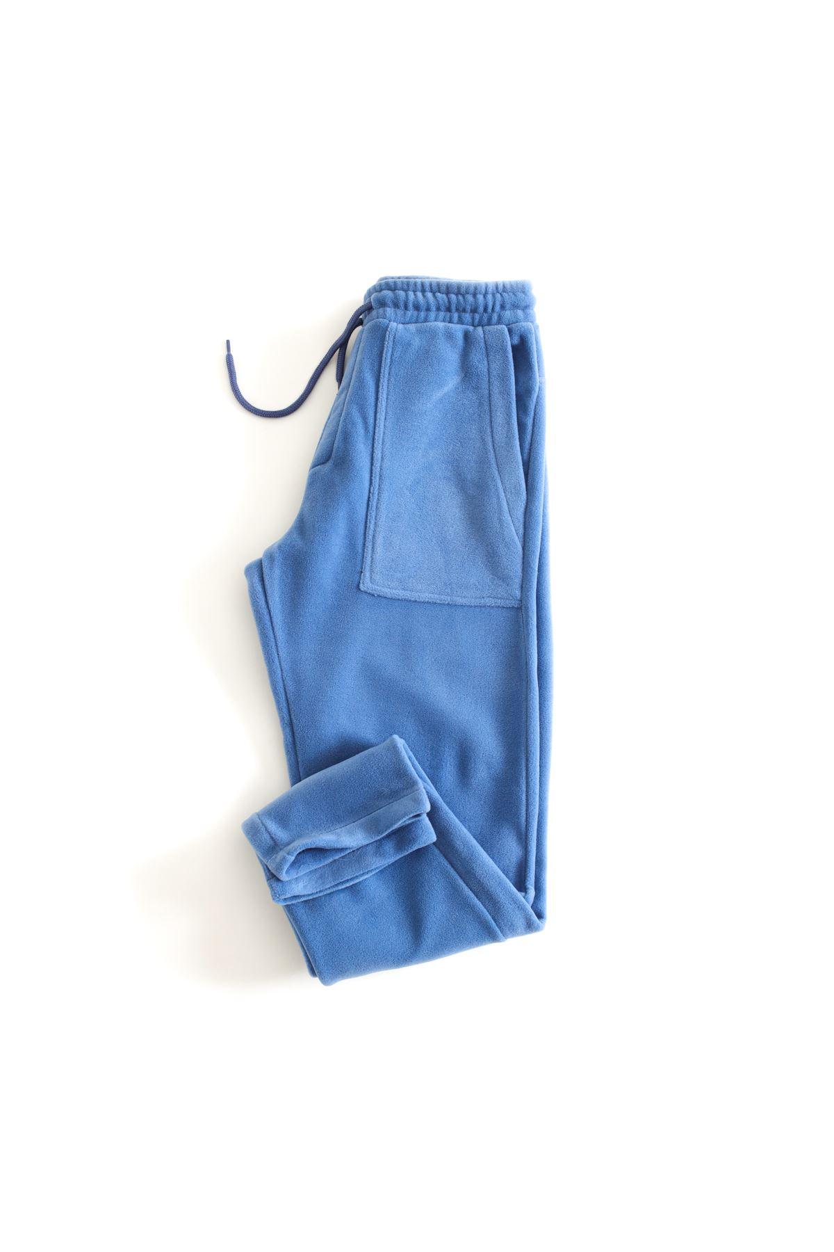 Mavi Polar Jogger Pantolon