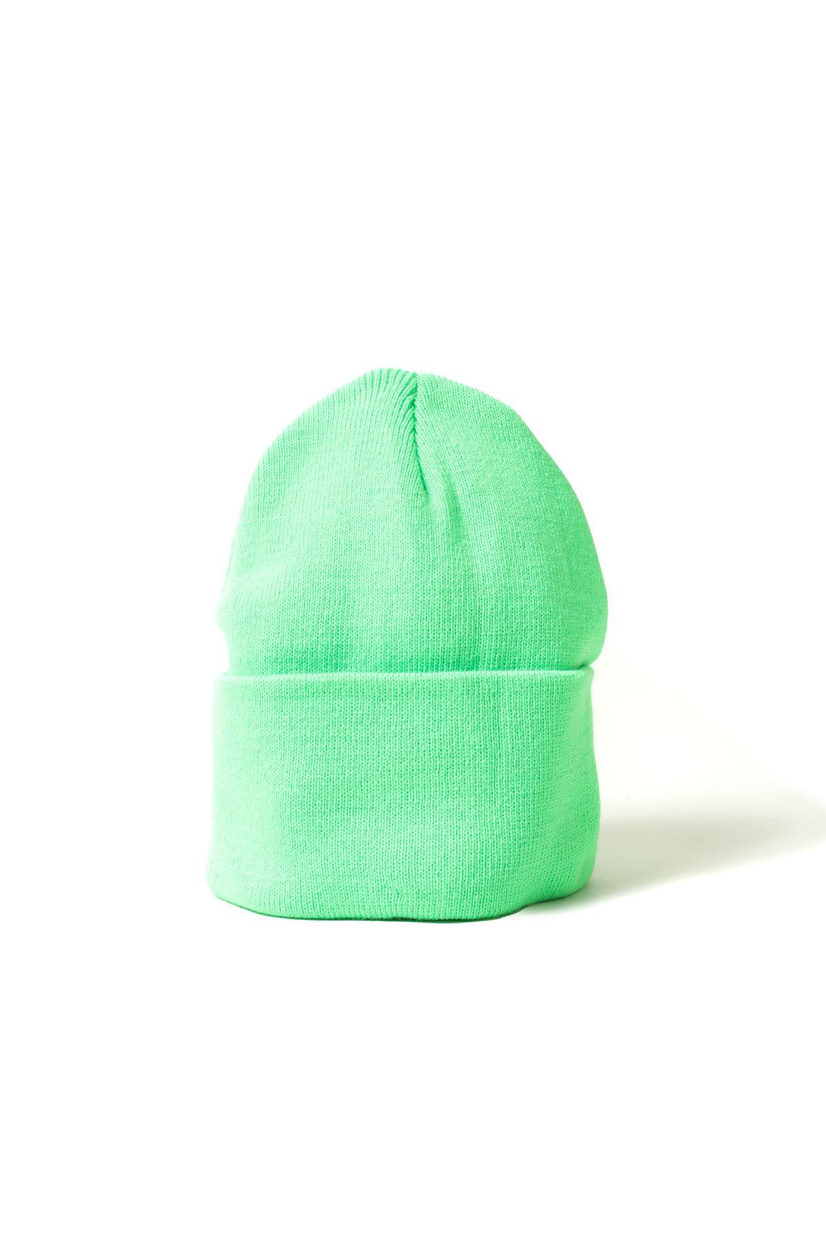 Neon Yeşil Bere