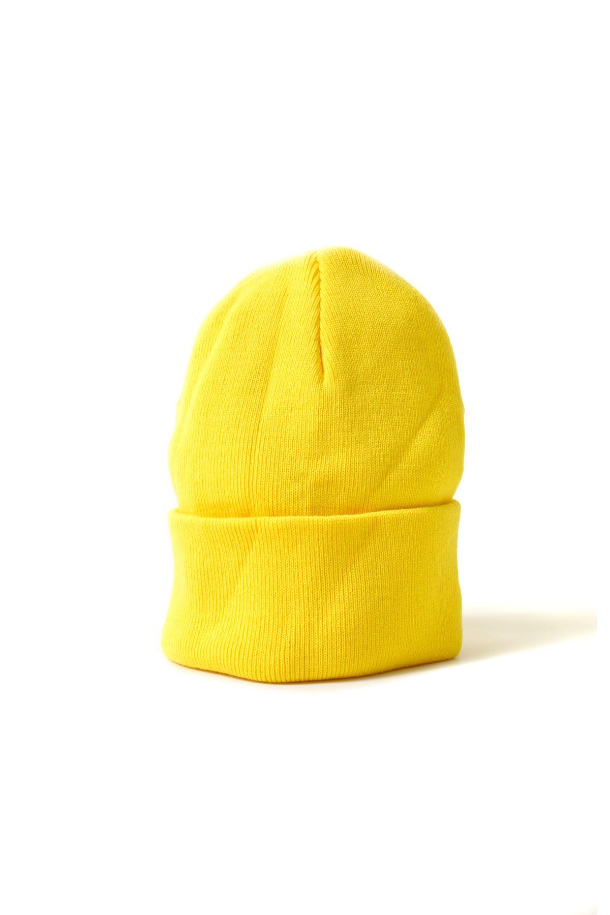 Neon Sarı Bere