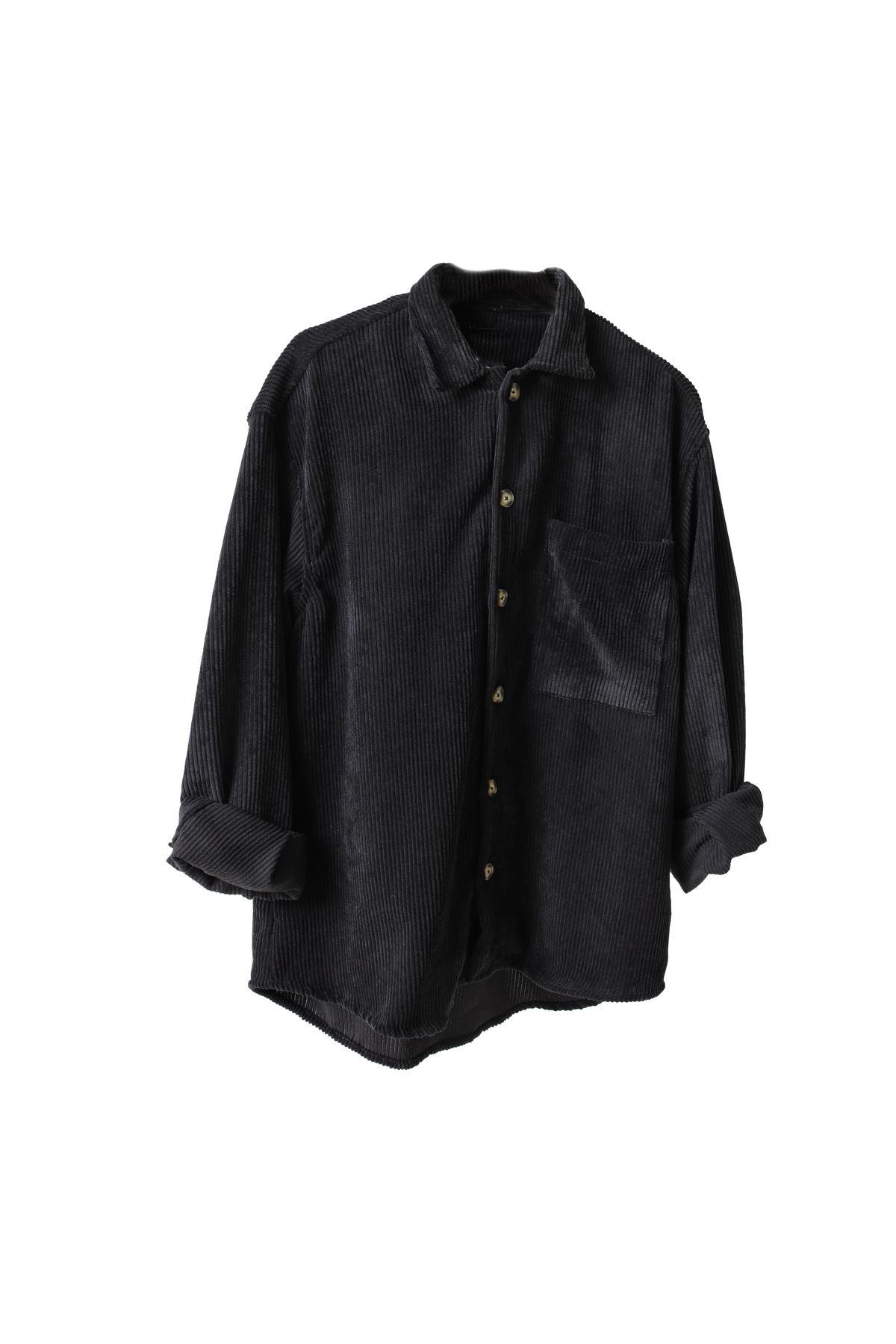 Siyah Kadife Gömlek