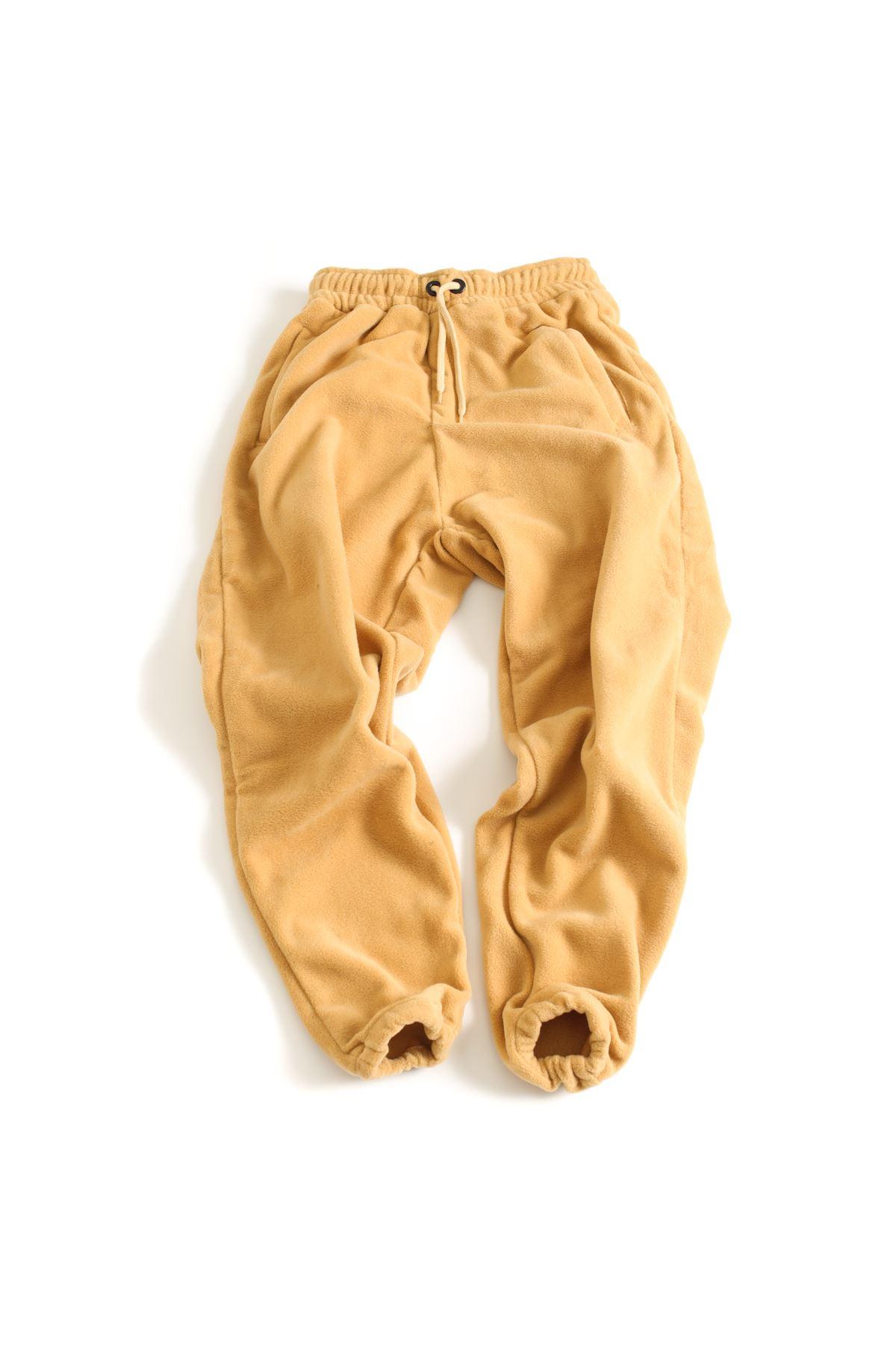 Taba Polar Lastikli Paçalı Jogger Pantolon