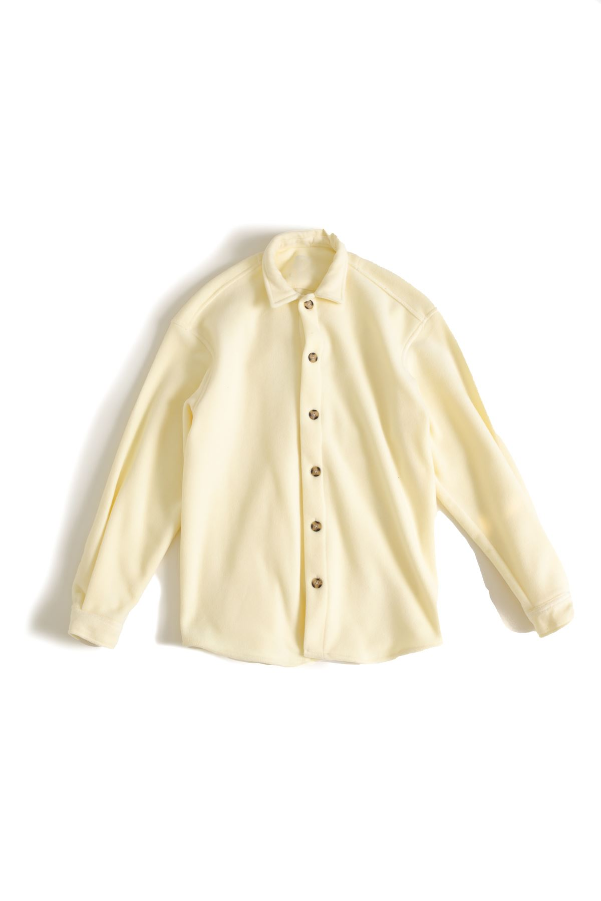 Sarı Polar Gömlek