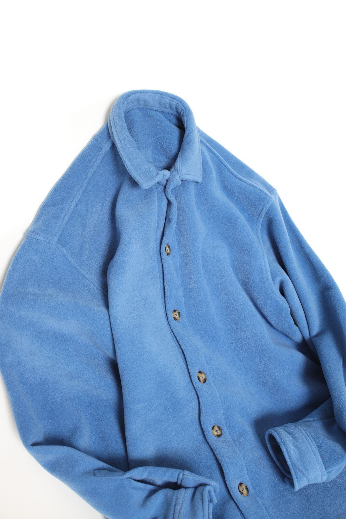 Mavi Polar Gömlek