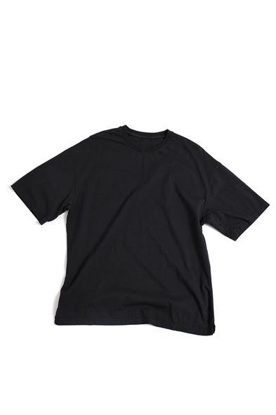 Siyah Kalın Ribanalı T-Shirt